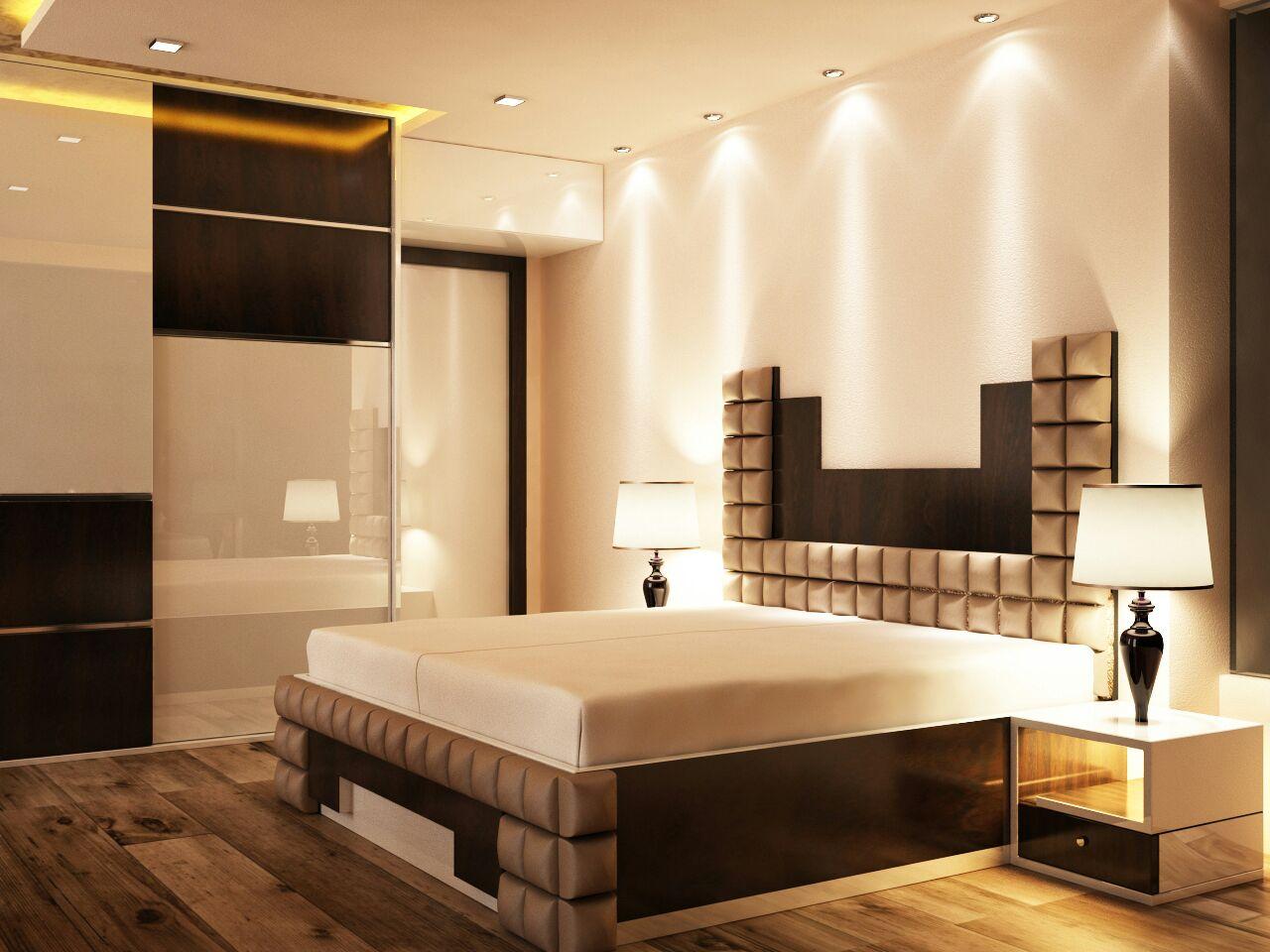 Brightly Light Bedroom by Elegant Interieurs Bedroom | Interior Design Photos & Ideas
