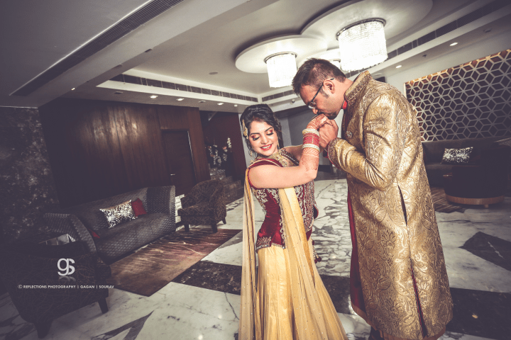 Kiss my hands by Reflections Photography Wedding-photography | Weddings Photos & Ideas