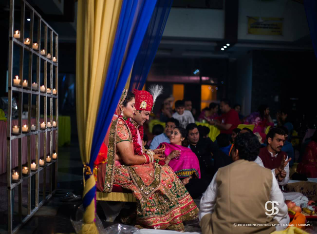 All set for the ritual by Reflections Photography Wedding-photography | Weddings Photos & Ideas