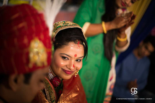 Blushing bride by Reflections Photography Wedding-photography | Weddings Photos & Ideas