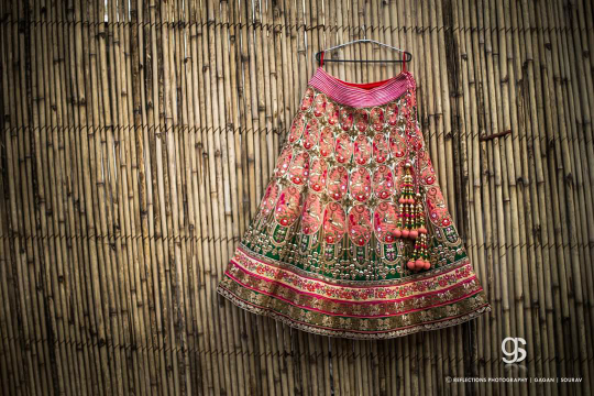 Brides lehenga by Reflections Photography Wedding-photography | Weddings Photos & Ideas