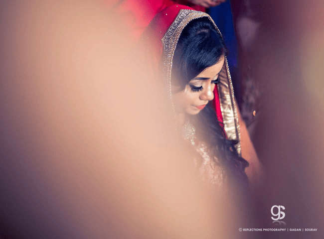 A glimpse of a bride! by Reflections Photography Wedding-photography | Weddings Photos & Ideas