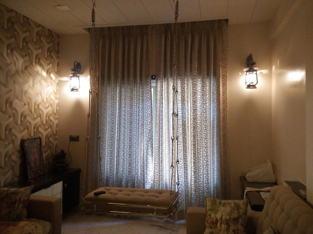 Beige Beauty by Interiors  Living-room Contemporary | Interior Design Photos & Ideas