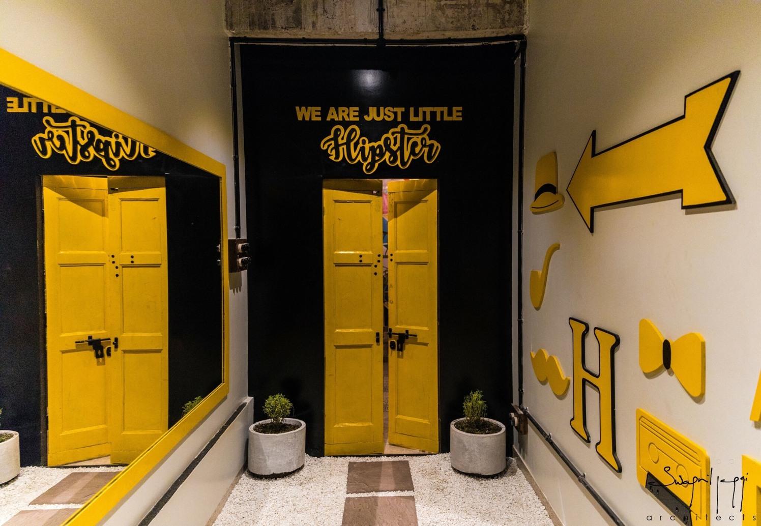 Black & Yellow by Interiors  Contemporary   Interior Design Photos & Ideas