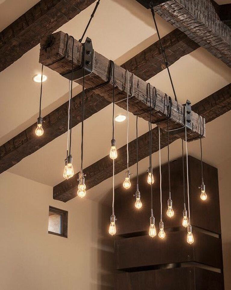 Falling Bulbs by Interiors  Living-room Contemporary | Interior Design Photos & Ideas