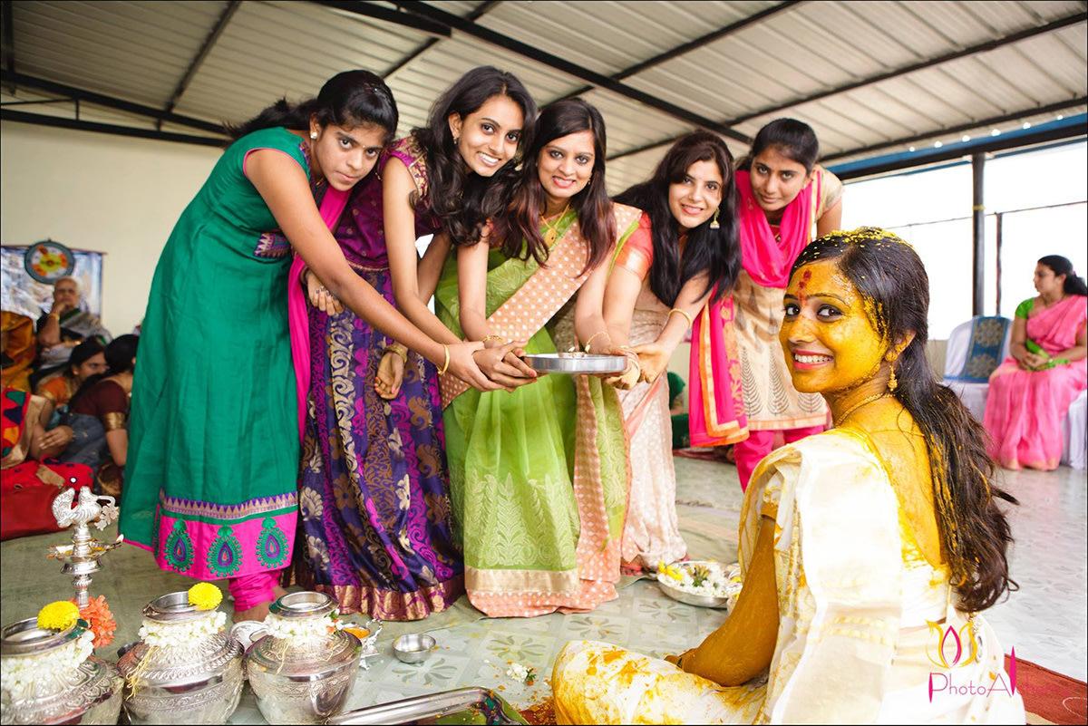 Haldi rasam by Photo Alchemy Wedding-photography | Weddings Photos & Ideas