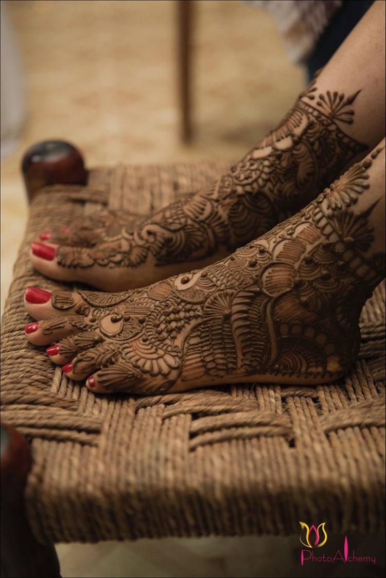 Feet henna by Photo Alchemy Wedding-photography   Weddings Photos & Ideas