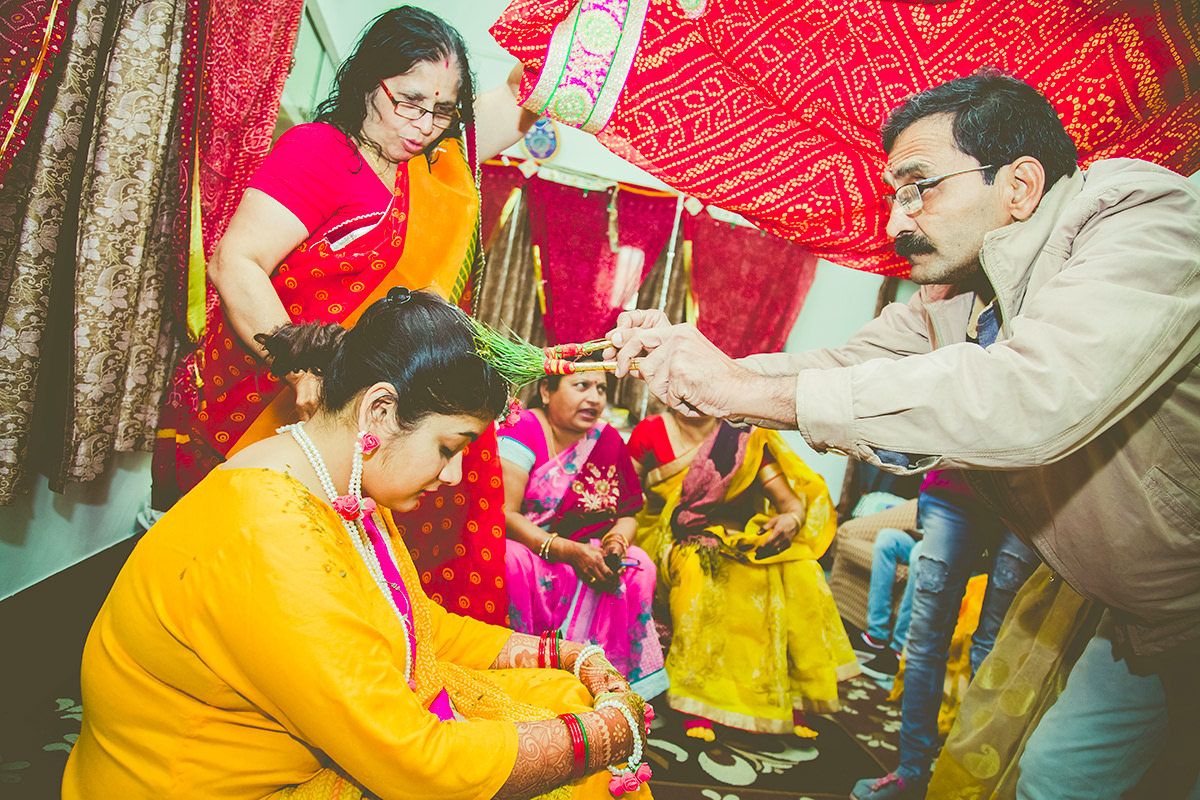 Haldi ceremony! by Studio RGB Wedding-photography | Weddings Photos & Ideas