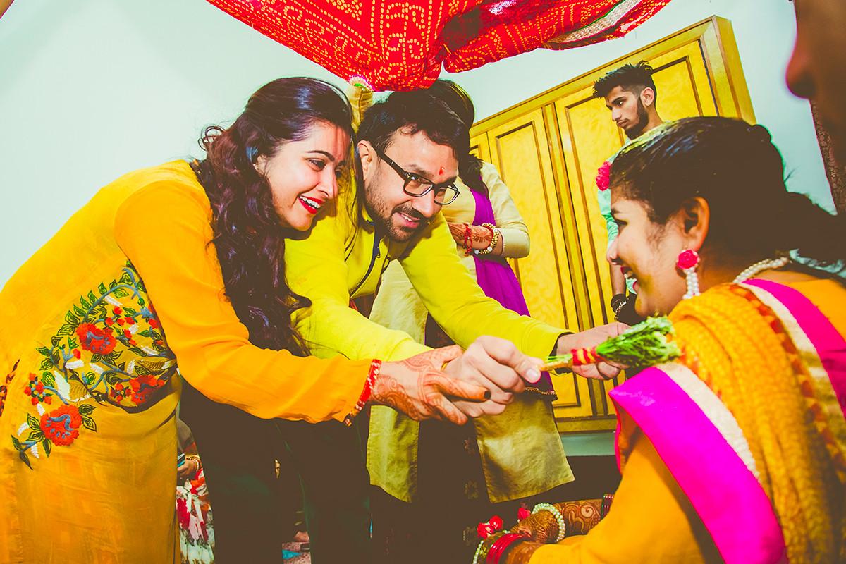 Pious haldi ceremony! by Studio RGB Wedding-photography | Weddings Photos & Ideas