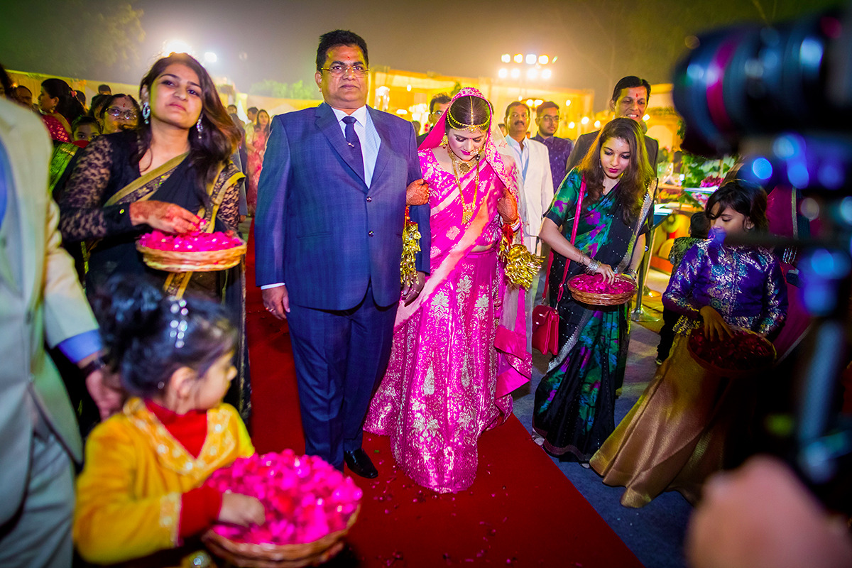 The grand bridal entry! by Studio RGB Wedding-photography | Weddings Photos & Ideas