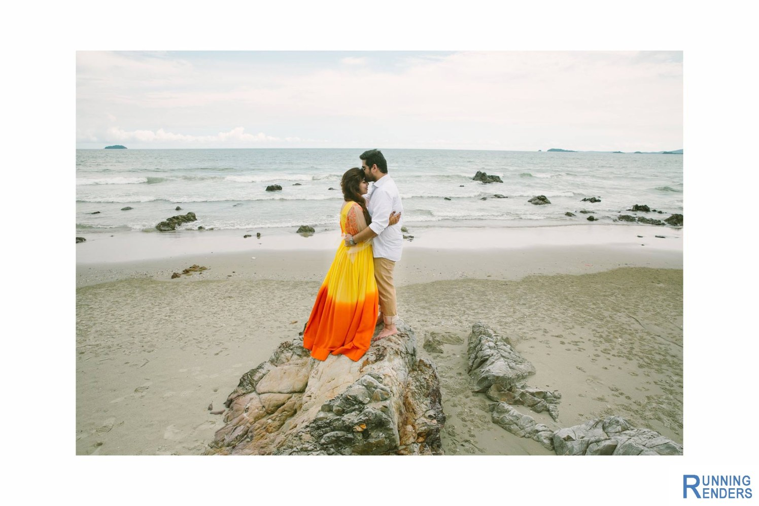 Pre-wedding shoot on the beach! by Mohe Weddings By Running Renders Wedding-photography | Weddings Photos & Ideas
