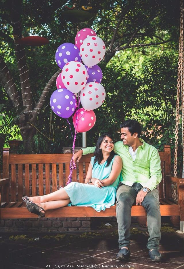 Pre-wedding shoot with balloons! by Mohe Weddings By Running Renders Wedding-photography | Weddings Photos & Ideas