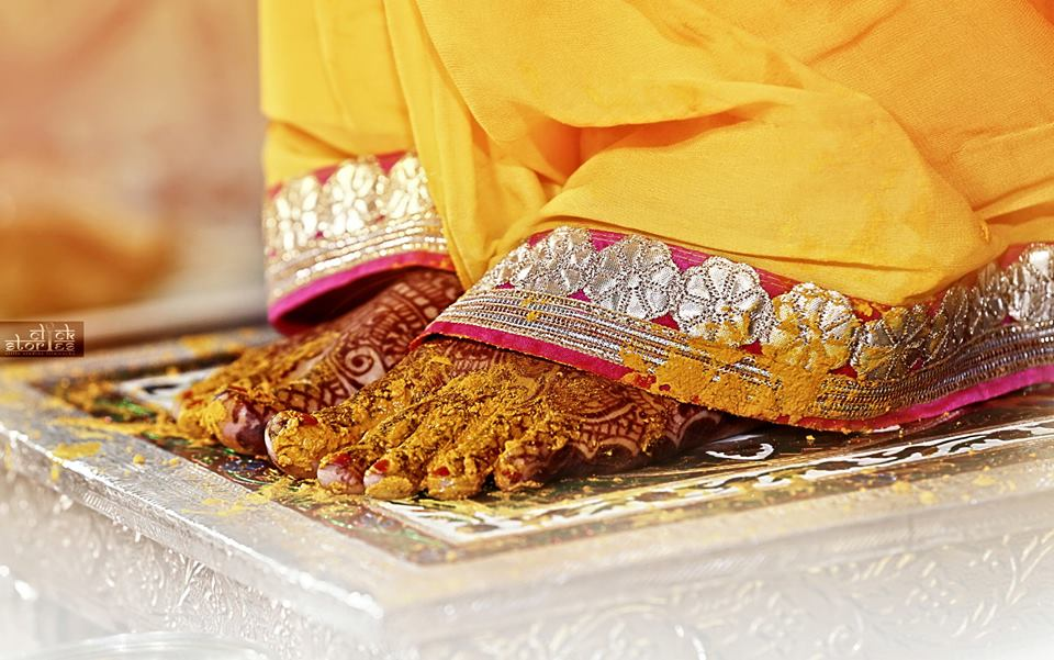 Haldi shot! by Click Stories Wedding-photography | Weddings Photos & Ideas