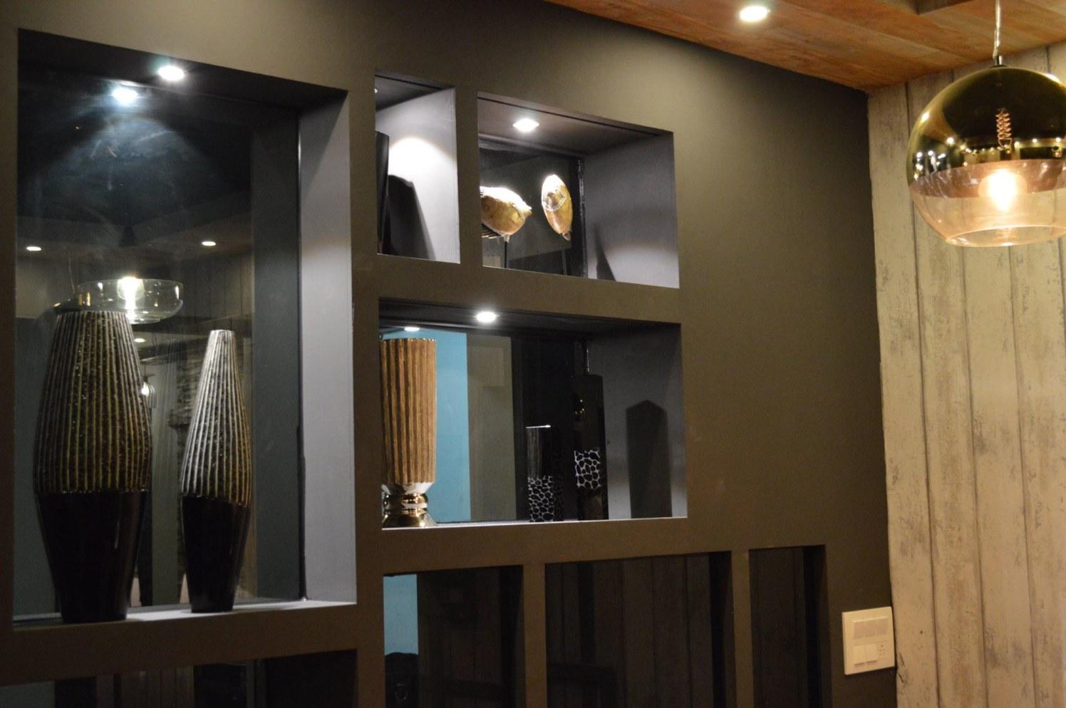 The Vase Showcase by Urban Upgrade Interiors Modern | Interior Design Photos & Ideas