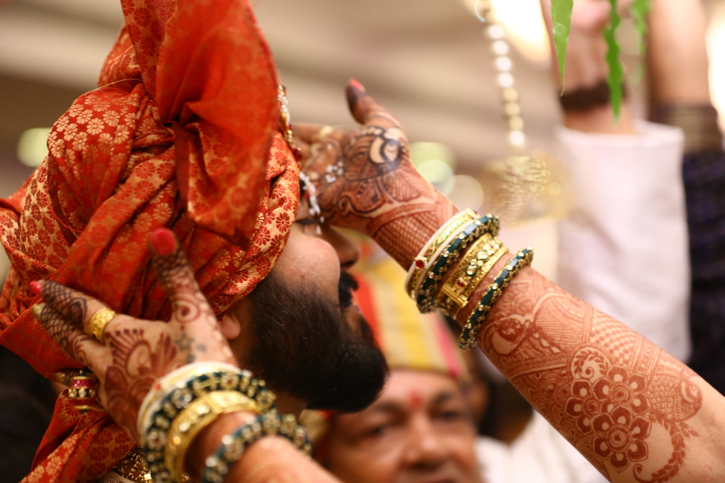 Beautiful turban by Shobha Dhillon Wedding-photography | Weddings Photos & Ideas