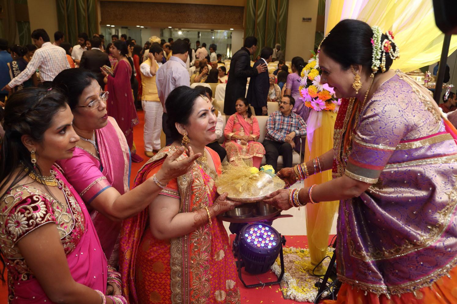 Celebrating togetherness by Shobha Dhillon Wedding-photography | Weddings Photos & Ideas