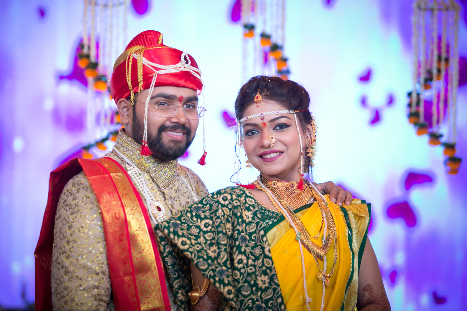 Elegant couple happy together by Shobha Dhillon Wedding-photography | Weddings Photos & Ideas
