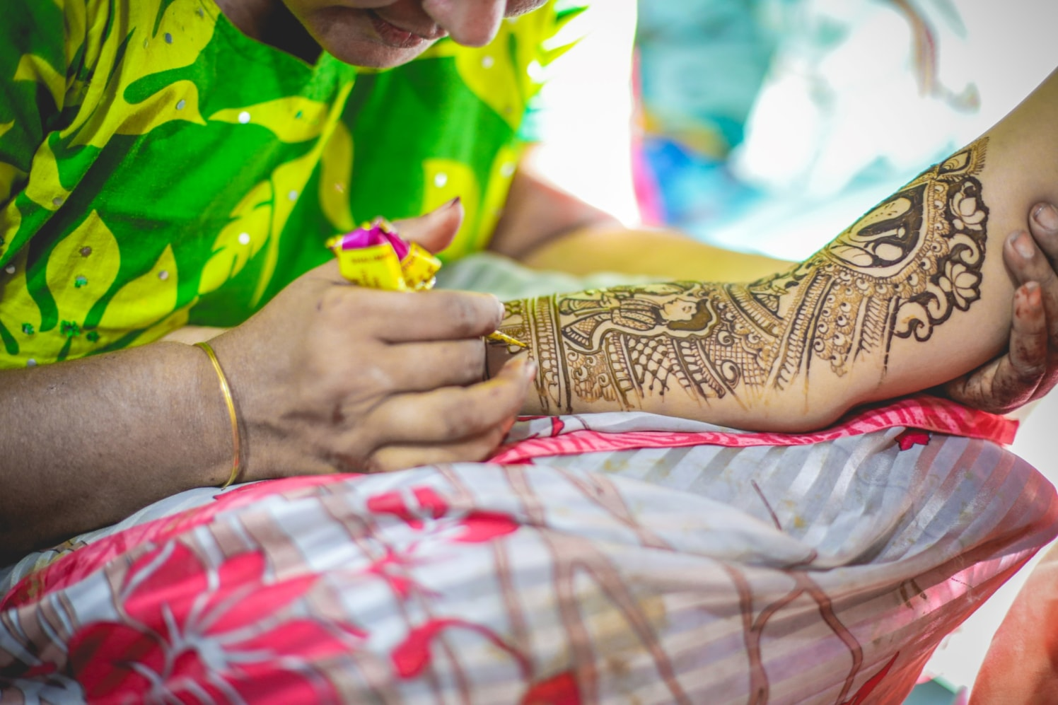 Rich Mughlai Mehendi Design by Aniket Kanitkar Wedding-photography Bridal-mehendi | Weddings Photos & Ideas