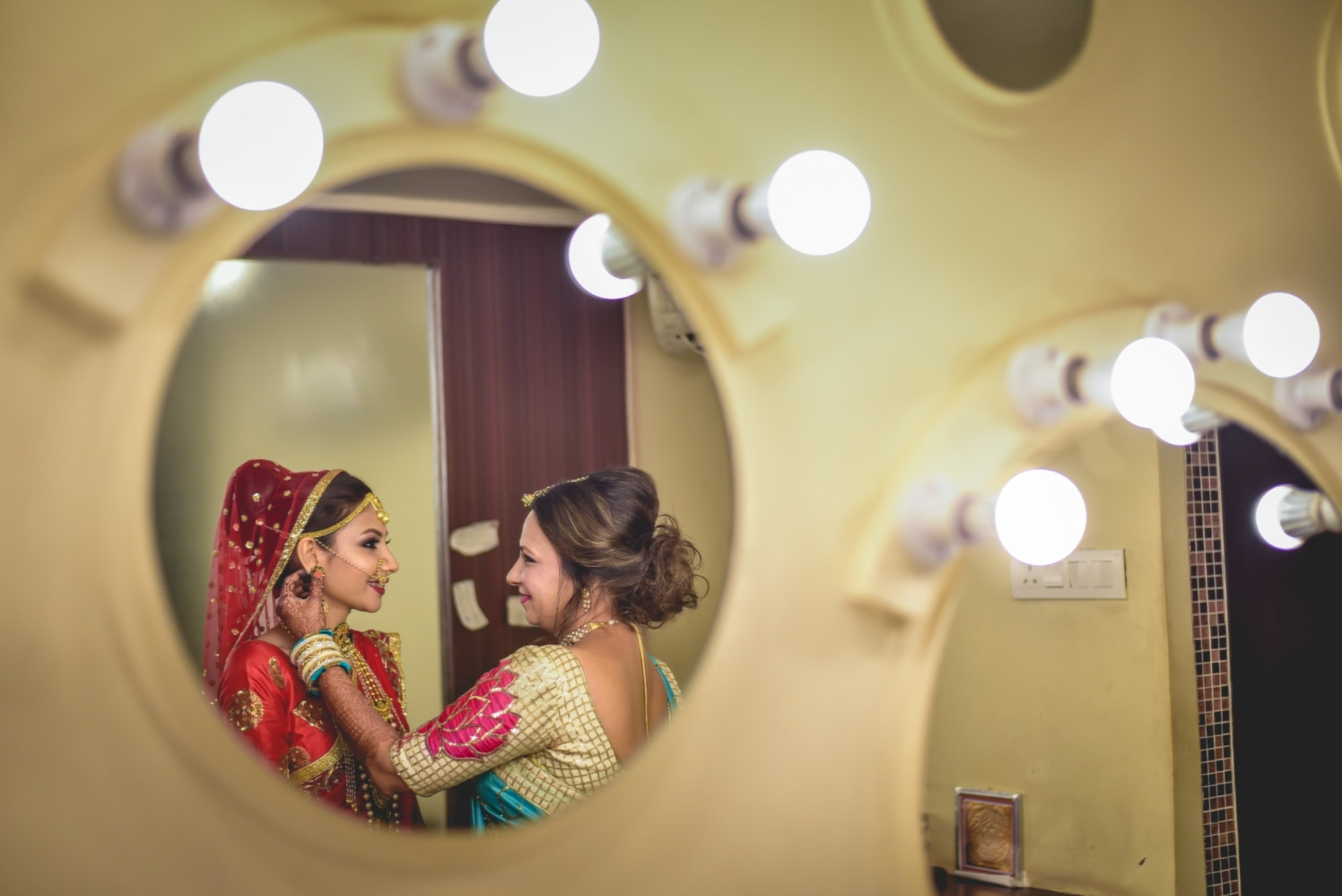 The bride is almost ready! by Aniket Kanitkar Photography Wedding-photography | Weddings Photos & Ideas