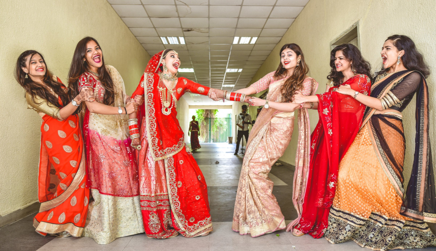 When bridesmaids go crazy! by Aniket Kanitkar Photography Wedding-photography | Weddings Photos & Ideas