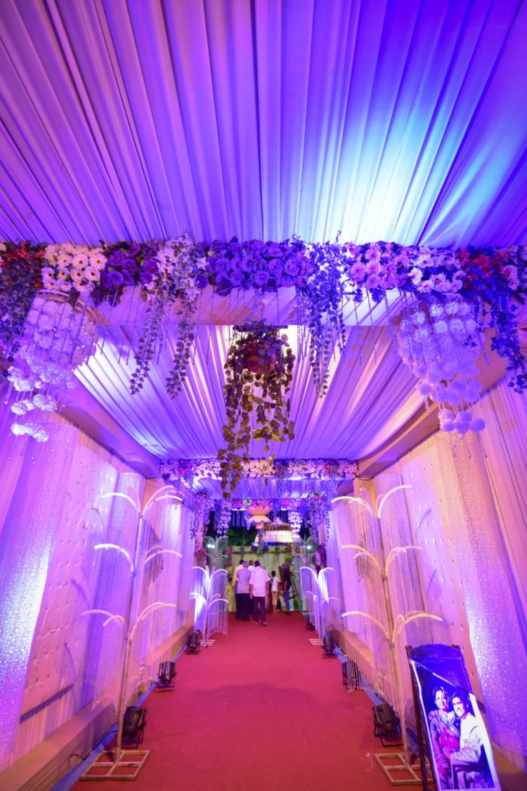 Floral Wedding Entrance by Aniket Kanitkar Wedding-photography Wedding-decor | Weddings Photos & Ideas