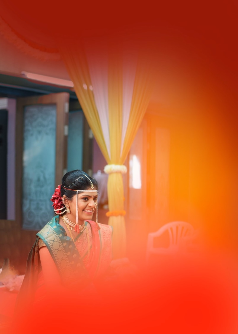 Orange hues! by Aniket Kanitkar Photography Wedding-photography | Weddings Photos & Ideas