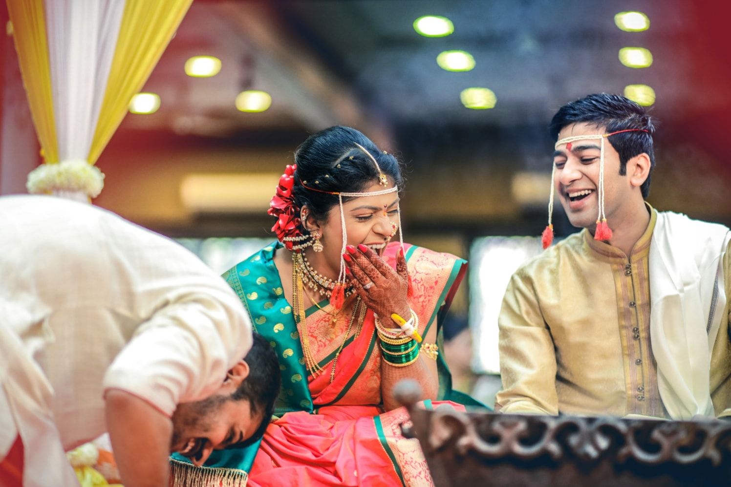 Happy joys! by Aniket Kanitkar Photography Wedding-photography | Weddings Photos & Ideas