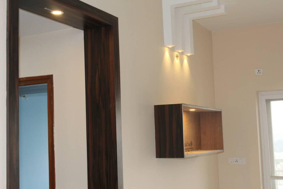 Hallway by Divine home interiors  Indoor-spaces Contemporary | Interior Design Photos & Ideas