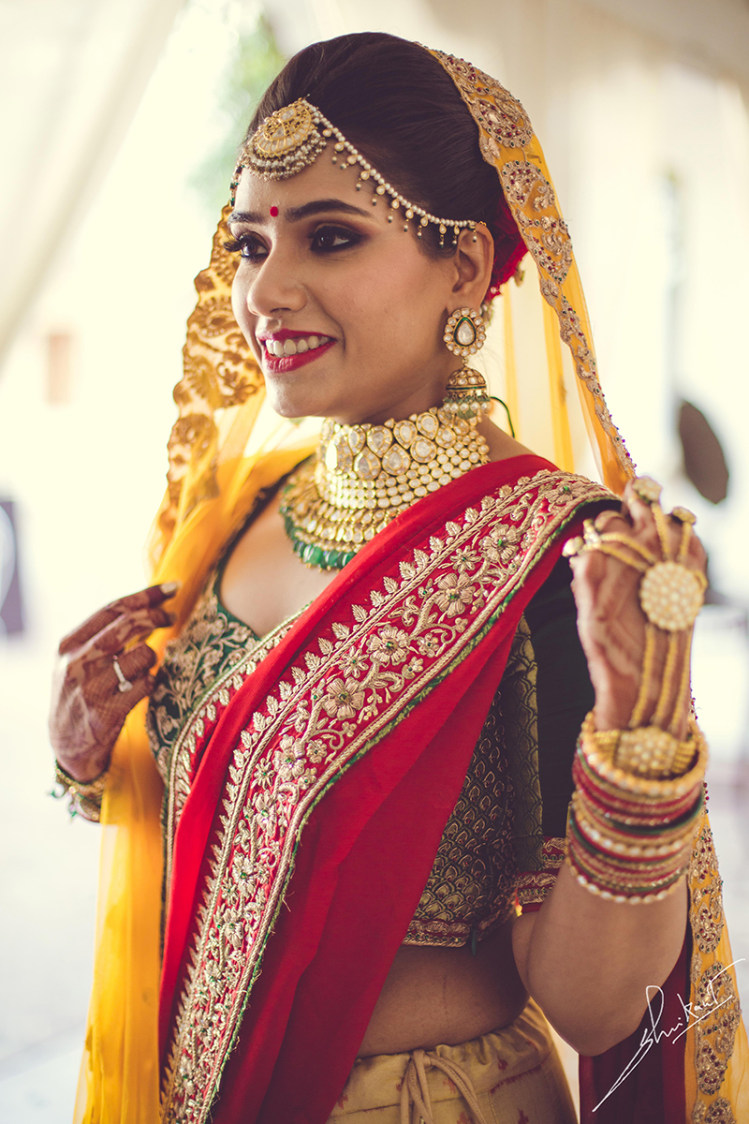 Best place for colours to be is her attire by Shrikant Narayan Arora Wedding-photography | Weddings Photos & Ideas
