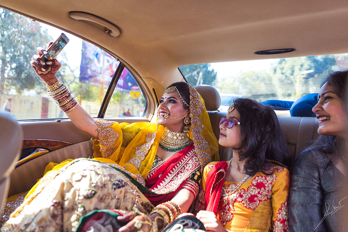 But first a selfie by Shrikant Narayan Arora Wedding-photography | Weddings Photos & Ideas