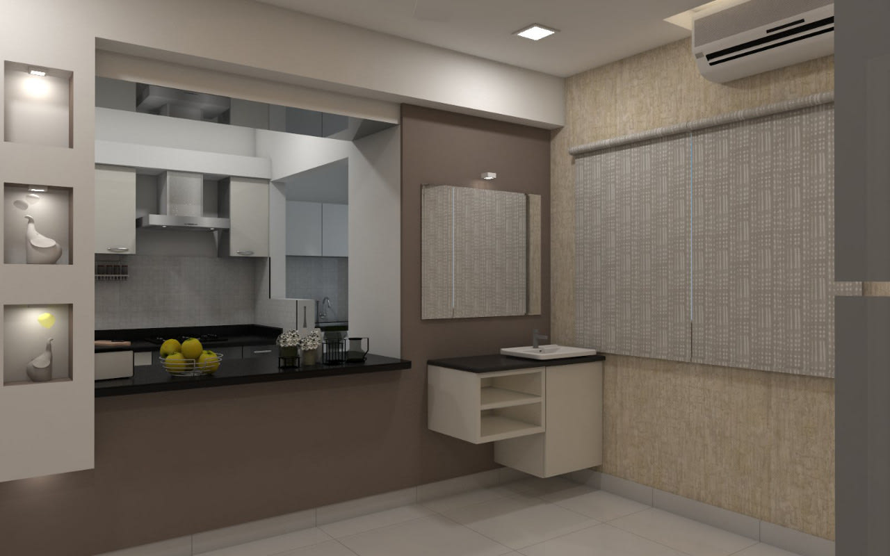 Living Room by Shree Lalitha Consultants Living-room   Interior Design Photos & Ideas