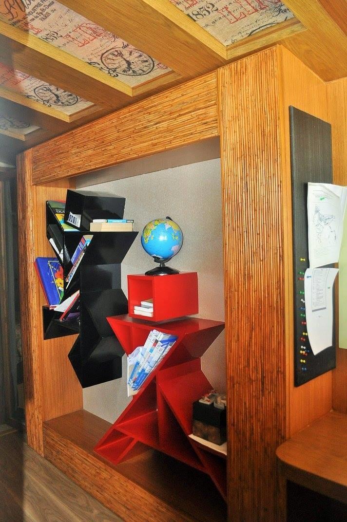 Contemporary Display Unit by Misaki Atelier Living-room Contemporary | Interior Design Photos & Ideas