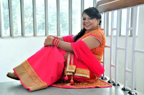 Bride Wearing Orange And Pink Lehenga by Riddhi Photography Wedding-photography | Weddings Photos & Ideas