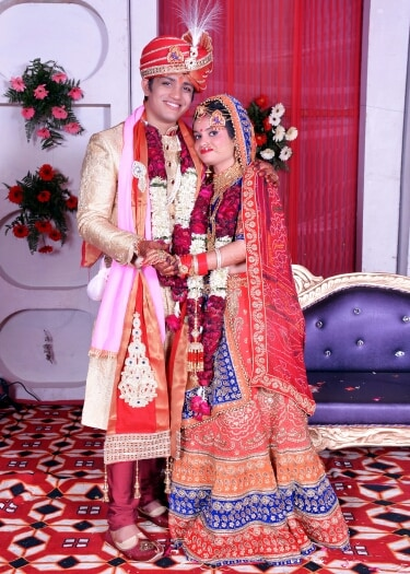 Bride And  Groom Together by Riddhi Photography Wedding-photography | Weddings Photos & Ideas
