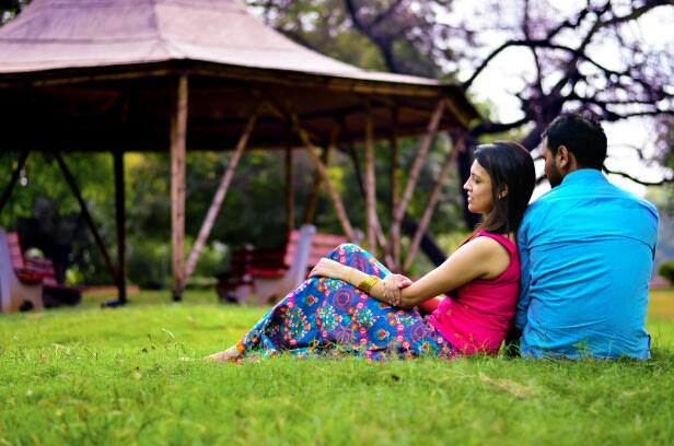 Pre-wedding Shoot In Garden by Riddhi Photography Wedding-photography | Weddings Photos & Ideas