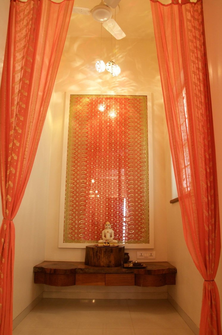 Prayer Room by Design Kkarma Indoor-spaces Minimalistic | Interior Design Photos & Ideas