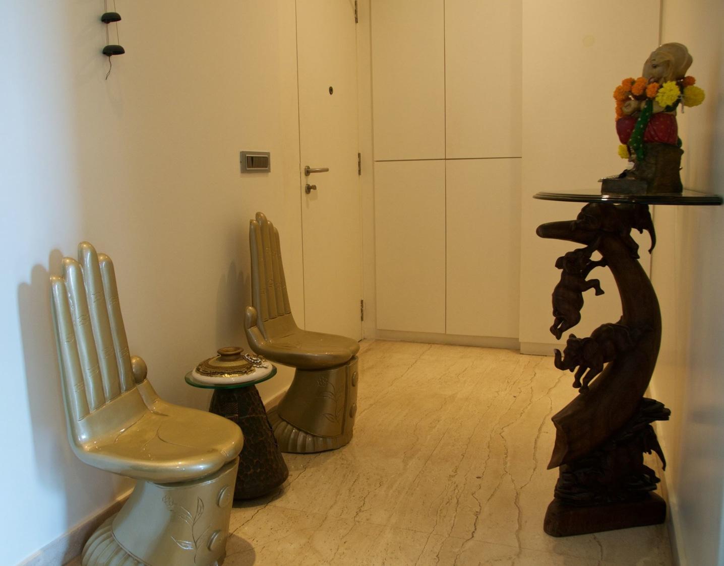 Waiting Room by Design Kkarma Living-room | Interior Design Photos & Ideas