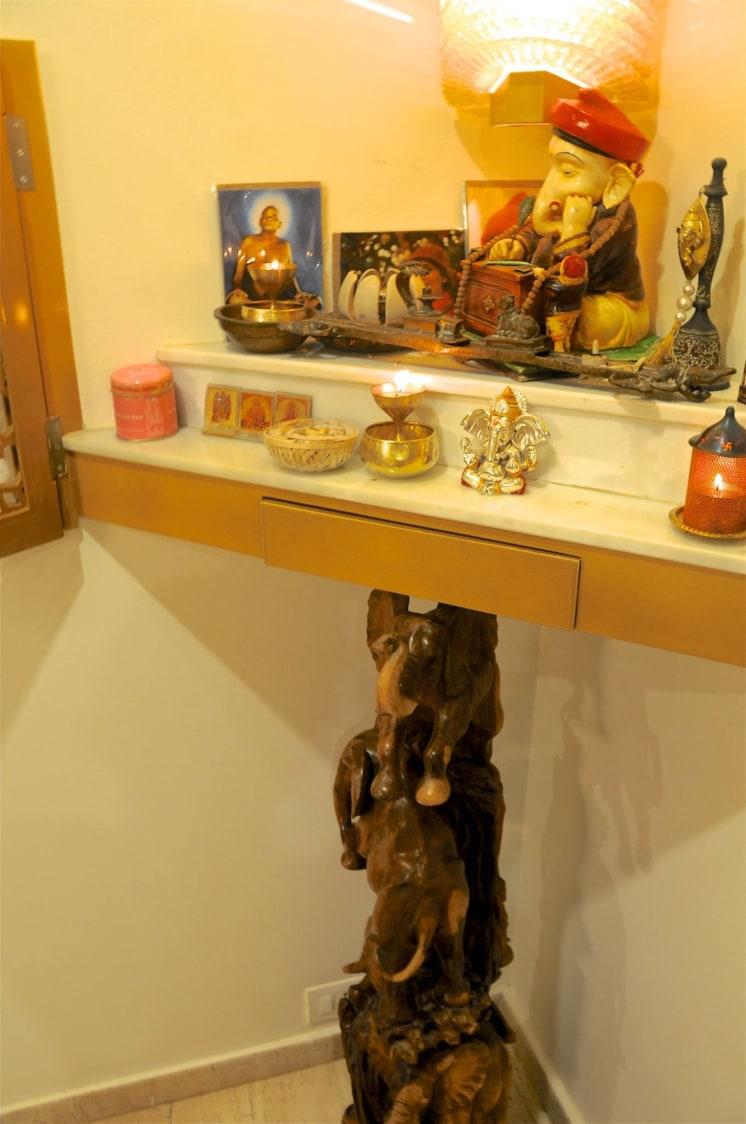 Prayer Room by Design Kkarma Indoor-spaces | Interior Design Photos & Ideas