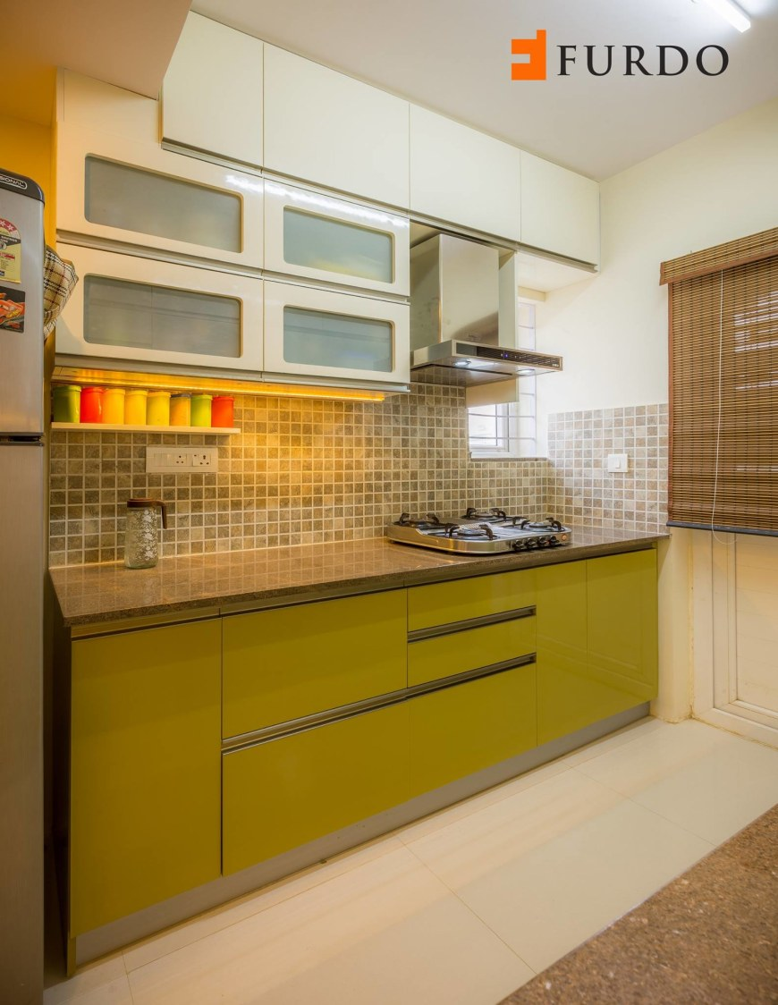 Kitchen With Modular Cabinets by Furdo.com Modular-kitchen Modern | Interior Design Photos & Ideas