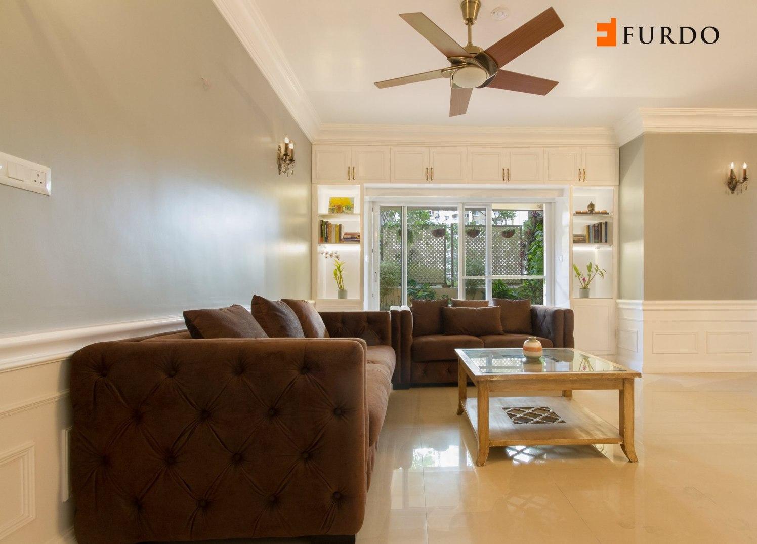Living Room With L shape  Furniture by Furdo.com Living-room Contemporary | Interior Design Photos & Ideas