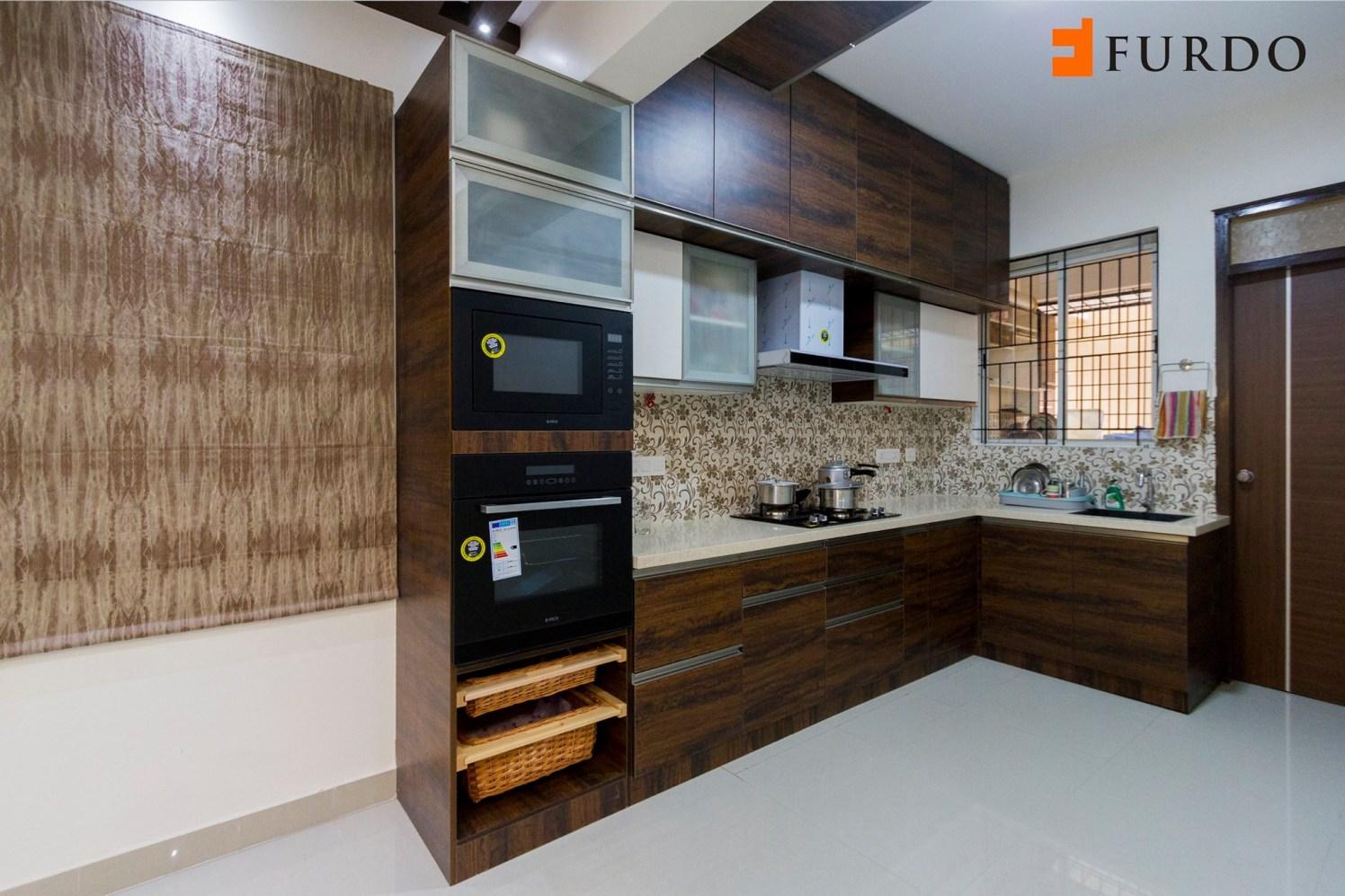 Kitchen With Modular Cabinets by Furdo.com Modular-kitchen Modern | Interior Design Photos & Ideas