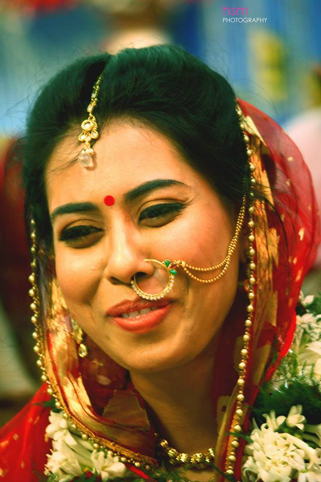 Smiling Bride on her Wedding Day ! by HSM Photography  Wedding-photography Bridal-jewellery-and-accessories Bridal-makeup | Weddings Photos & Ideas