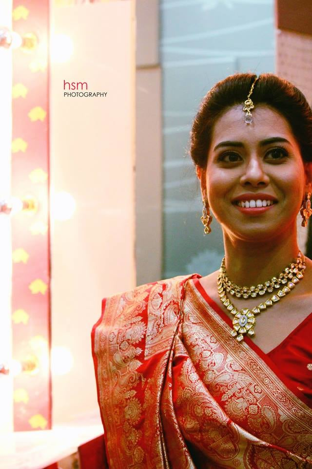 Radiant Bride on her Wedding Day by HSM Photography  Wedding-photography Bridal-makeup Bridal-jewellery-and-accessories | Weddings Photos & Ideas