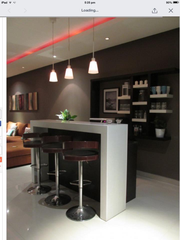 Modern Home Bar by Infurn Designs Indoor-spaces Modern | Interior Design Photos & Ideas