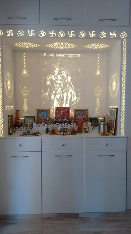 Modern Prayer Room by Infurn Designs Indoor-spaces Modern | Interior Design Photos & Ideas