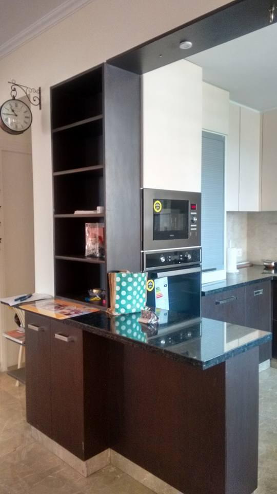 Open Peninsula Kitchen by Infurn Designs Modular-kitchen Modern | Interior Design Photos & Ideas