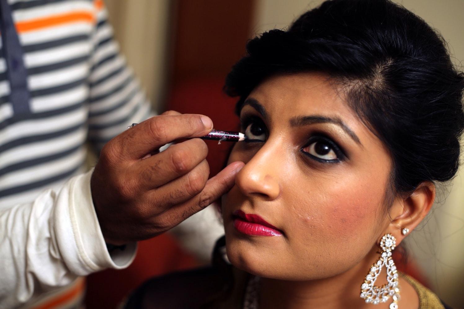 Getting ready shot! by Heena Video Wedding-photography | Weddings Photos & Ideas