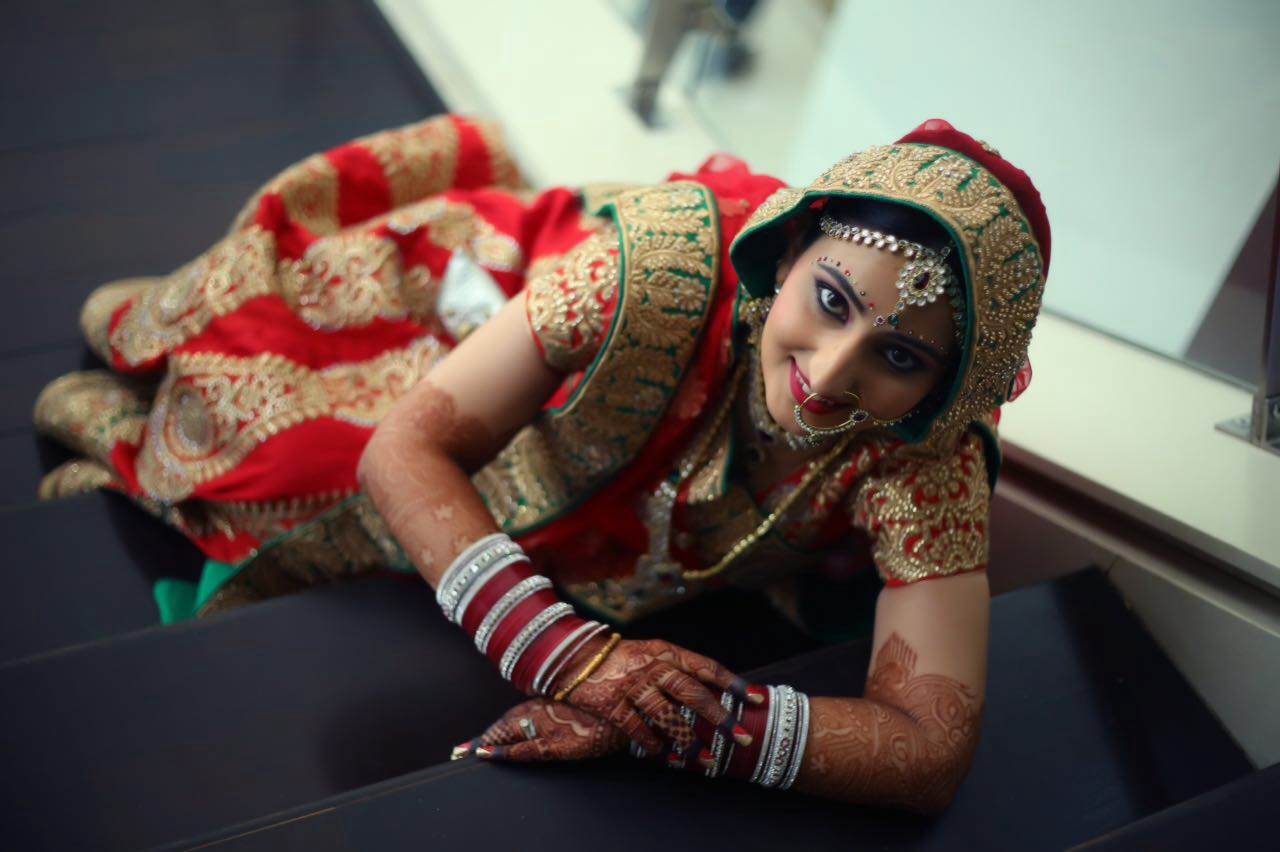 Bridal pose! by Heena Video Wedding-photography | Weddings Photos & Ideas