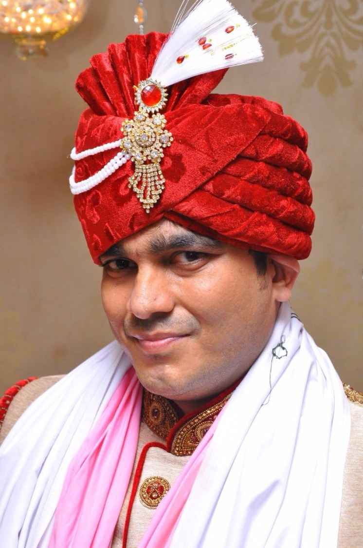 Groom's portrait by Heena Video Wedding-photography Groom-wear-and-accessories | Weddings Photos & Ideas