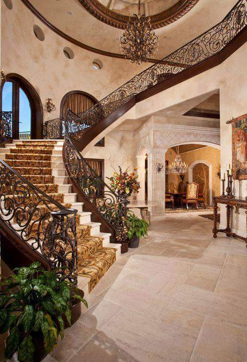 Royal Quarter Turn Stairs by HOC Designarch Indoor-spaces Traditional | Interior Design Photos & Ideas
